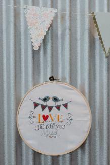 Bucilla Embroidery Kit