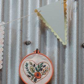 Design by Zeena Shah, Mollie Makes kit (@heartzeena)